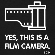 Design ~ Yes, this is a Film Camera.