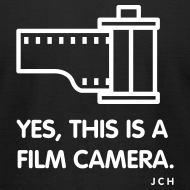 Design ~ yes, this is Film Camera Premium 100% cotton