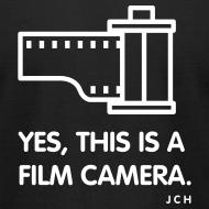Design ~ yes, this is Film Camera Premium 100% cotton