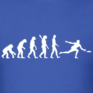 Evolution Frisbee T-Shirts - Men's T-Shirt