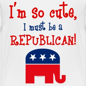 So Cute Republican T-Shirt - Toddler Premium T-Shirt