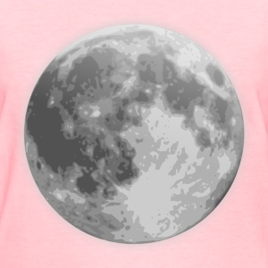 weather icon full moon - Women's T-Shirt