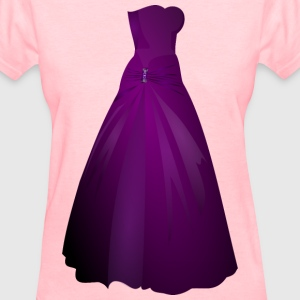 Formal Gown Remix - Women's T-Shirt