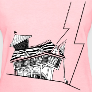 Basic Crooked House - Women's T-Shirt