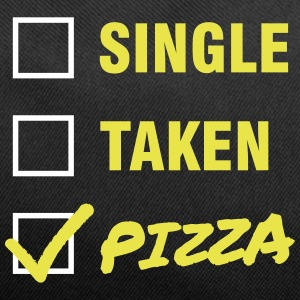 Single / Taken / Pizza - Funny & Cool Statment Bags & backpacks - Duffel Bag