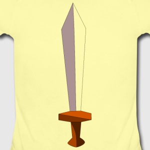 Sword - Short Sleeve Baby Bodysuit