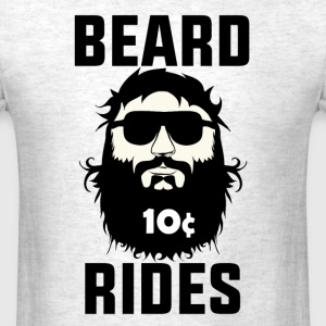 Beard Rides T-Shirts - Men's T-Shirt