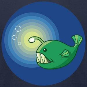Angler Fish T-Shirts - Men's T-Shirt by American Apparel
