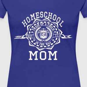 Homeschool Moms - Women's Premium T-Shirt
