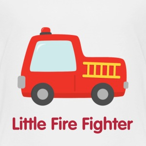 Cute Little Fire Truck Kids' Shirts - Kids' Premium T-Shirt