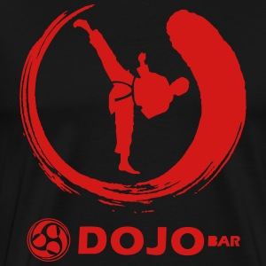 DOJO Bar Karate Kyodai Premium Mens T-shirt - Men's Premium T-Shirt