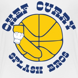 Chef Curry Splash Golden Baby & Toddler Shirts - Toddler Premium T-Shirt