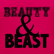 Design ~ Beauty & Beast | Womens tank