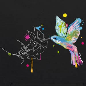 A hummingbird and a flower Sweatshirts - Kids' Hoodie