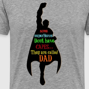super dad T-Shirts - Men's Premium T-Shirt