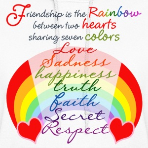 Friendship Rainbow - Women's Hoodie