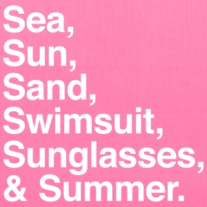 Sea Sun Sand Swimsuit Sunglasses Summer Bags & backpacks - Tote Bag