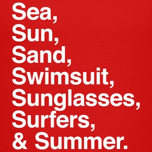 Sea Sun Sand Swimsuit Sunglasses Surfers Summer Baby & Toddler Shirts - Toddler Premium T-Shirt