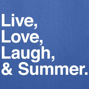 Live Love Laugh and Summer Bags & backpacks - Tote Bag