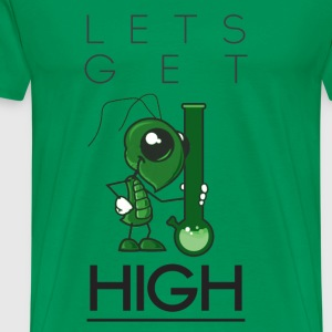 Let's Get High - Men's Premium T-Shirt