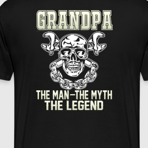 Grandpa the man - Men's Premium T-Shirt