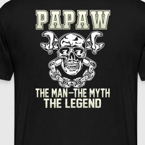 Papaw - the man - Men's Premium T-Shirt
