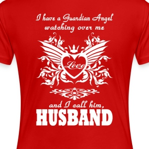 My guardian Angel, My Husband - Women's Premium T-Shirt