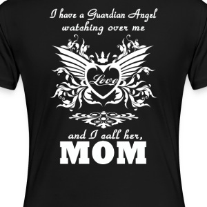 My guardian Angel, My MOM - Women's Premium T-Shirt