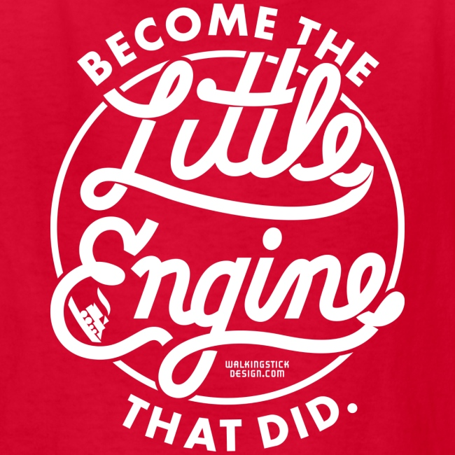 The Little Engine That Did Kids Shirt