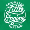 The Little Engine That Did Ladies Shirt - Women's Premium T-Shirt