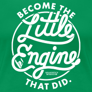 Design ~ The Little Engine That Did Ladies Shirt