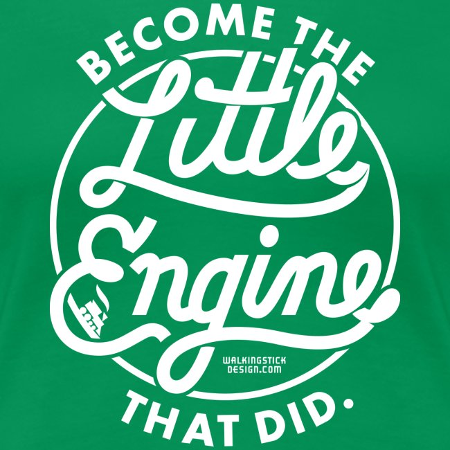 The Little Engine That Did Ladies Shirt