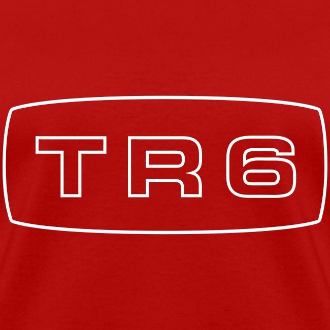 Triumph TR6 emblem script