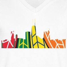 Chicago Hockey Skyline T-Shirts