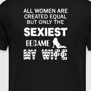 SEXIEST WIFE - Men's Premium T-Shirt