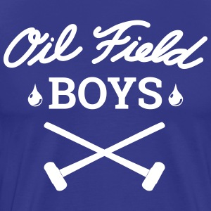 Oil Field Boys White - Men's Premium T-Shirt