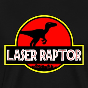 Laser Raptor - Men's Premium T-Shirt