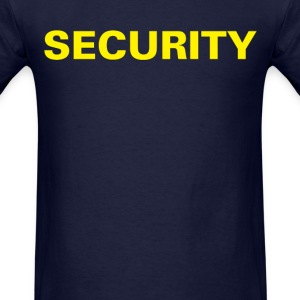 Security T-shirt (1) - Men's T-Shirt
