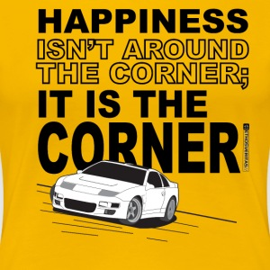 Corner of Happiness - Dark Text - Women's Premium T-Shirt