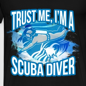 Scuba diving T-shirt - I am scuba diver - Men's Premium T-Shirt