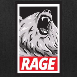 Rage, Don't Obey (Tote Bag) - Tote Bag