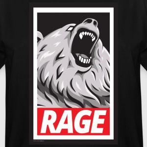 Rage, Don't Obey (Shirt) - Men's Tall T-Shirt