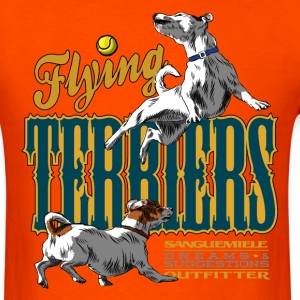 flying terriers T-Shirts - Men's T-Shirt