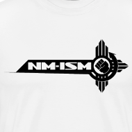 Design ~ New NM-ISM Black Logo Shirt - Men's