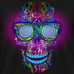 TRIPPY SKULL - Men's Premium T-Shirt