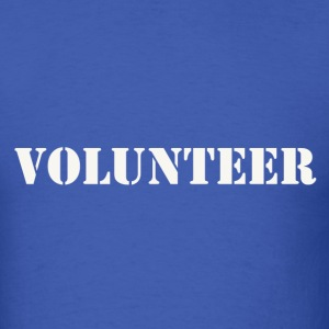 Volunteer - Men's T-Shirt