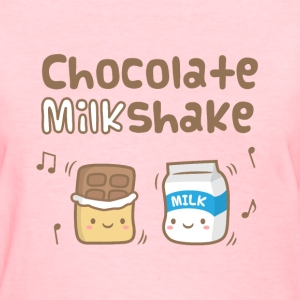 Cute Chocolate Milkshake Women's T-Shirts - Women's T-Shirt