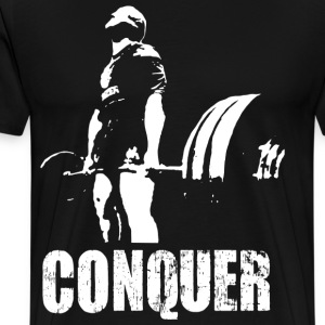 Conquer - Bodybuilding - Men's Premium T-Shirt