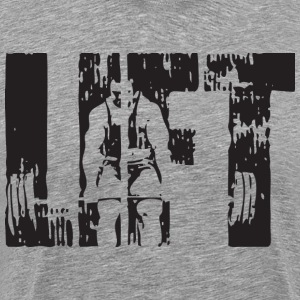 LIFT - Deadlift T-Shirts - Men's Premium T-Shirt