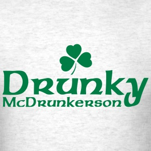 Drunky McDrunkerson T-Shirts - Men's T-Shirt